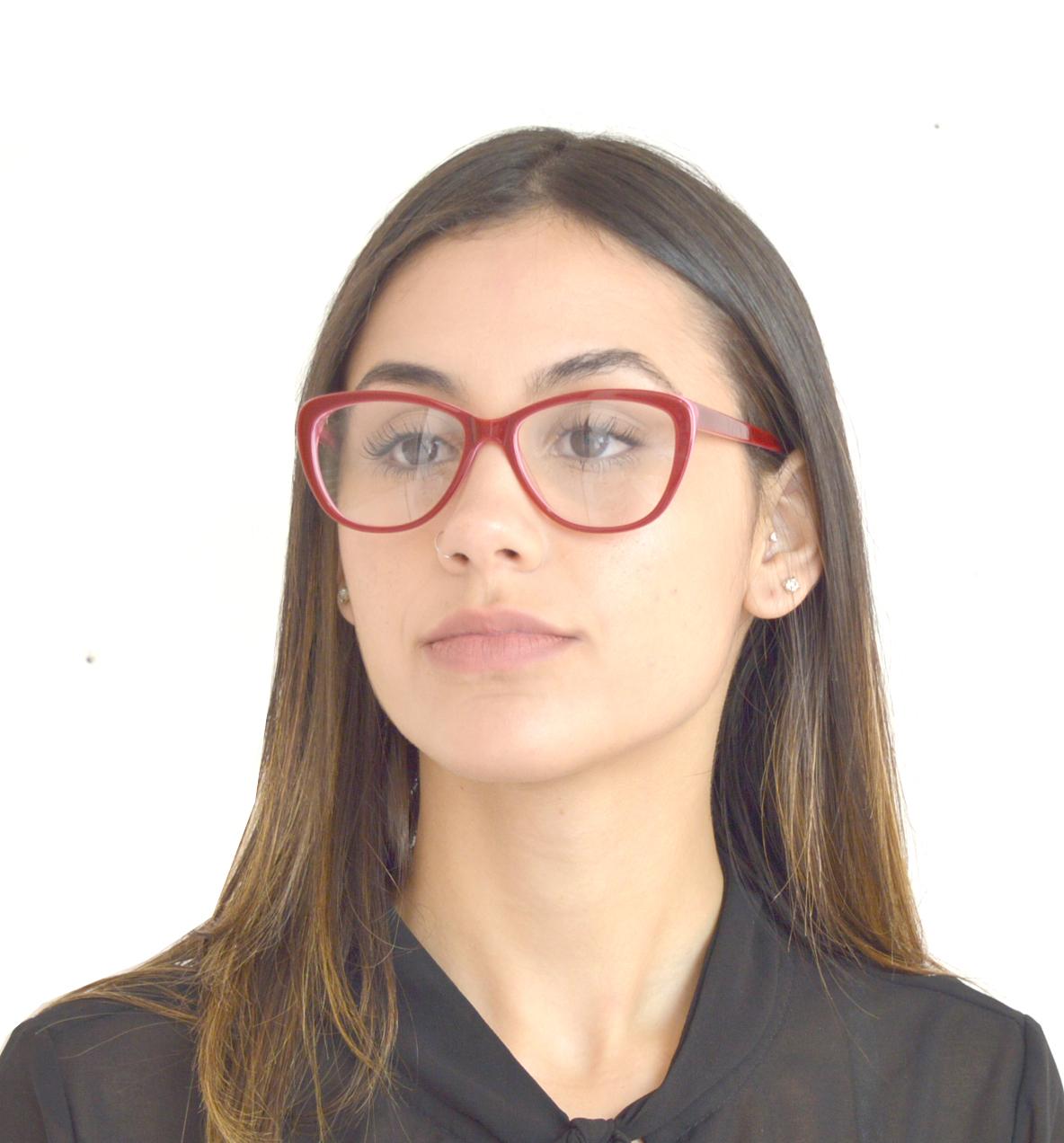 Armação Oculos De Grau Feminino Acetato Barato Gatinho Y1047 - R  99,99 em 05528039ad